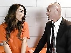 Gorgeous Tranny Barebacked Hard By Her Attorney In Jail Cell