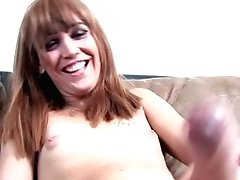 Fledgling Tgirl Jerking Her Bigcock At Casting