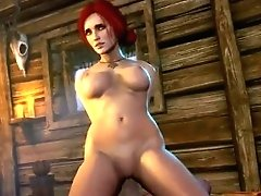 Triss (the Witcher  Ведьмак)