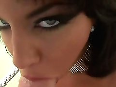Eye-popping Hoochie Gets The Pleasure From Sucking Rocco Siffredis Dick Like Never Before