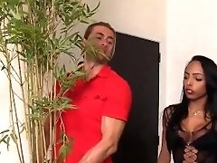 Shemale And Her Gardener Fuck Each Other's Booties