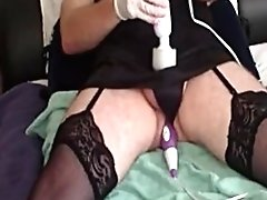 Jorgina - Black Nuit & Anal Torture With Playthings 2014