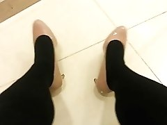 Black Pantyhose Teaser Five