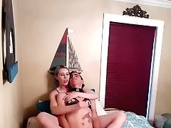 Lux Lives Edges And Denies Casey V With Tugjob And Footjob